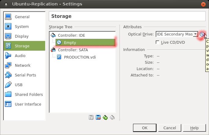 VirtualBox - Storage