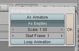 ToM's Blog » bvh motioncapture-animations with blender